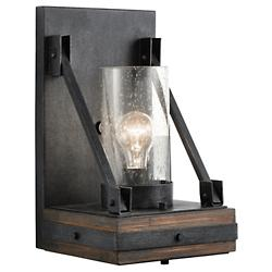Colerne Wall Sconce by Kichler(Auburn Stain)-OPEN BOX RETURN