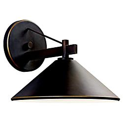 Ripley Outdoor Wall Sconce by Kichler(Large)-OPEN BOX RETURN