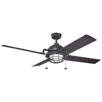 Maor Patio Indoor/Outdoor Ceiling Fan