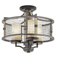 Ahrendale Chandelier/Semi-Flushmount Light