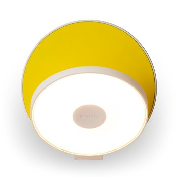 Shown in Matte Yellow Shade, Matte White Base