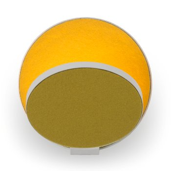 Shown in Matte Yellow Shade, Matte Yellow Base