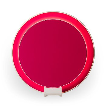 Shown in Matte Hot Pink Shade, Matte White Base