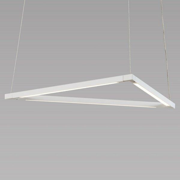 Z-Bar Triangle LED Pendant