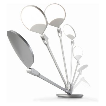 Shown in Silver finish, fully adjustable