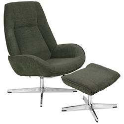 Roma Recliner with Ottoman