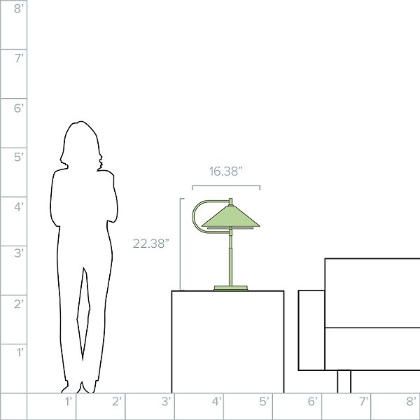 Gesture Table Lamp