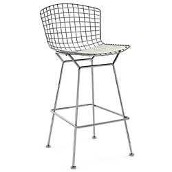 Bertoia Barstool with Seat Cushion