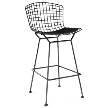 Shown in Common Ground Basalt with Satin Chrome finish, Bar Height