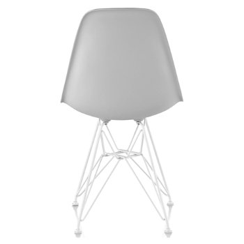 Shown in Alpine seat color with Wire Base/White