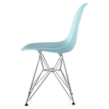 Shown in Aqua Sky seat color with Wire Base/Trivalent Chrome