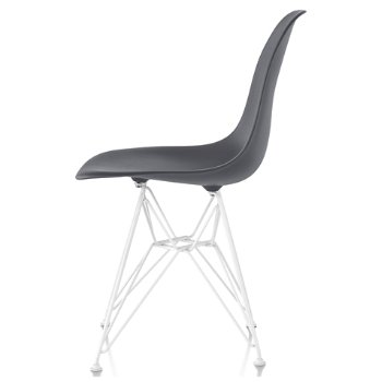 Shown in Charcoal seat color with Wire Base/White