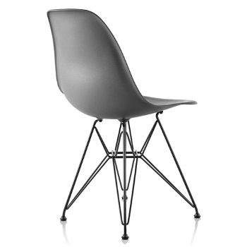 Shown in Charcoal seat color with Wire Base/Black