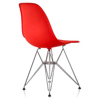 Shown in Red Orange seat color with Wire Base/Trivalent Chrome