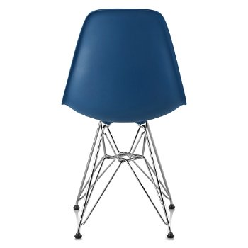 Shown in Peacock Blue seat color with Wire Base/Trivalent Chrome