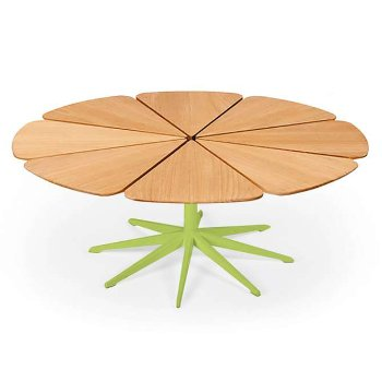 Shown in Teak, Lime Green