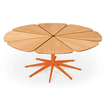Shown in Teak, Orange