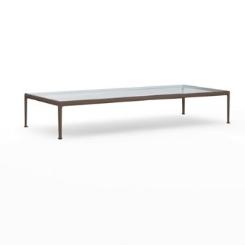 1966 Collection 38-Inch x 90-Inch Coffee Table with 1966 Collection Three Seat Lounge Chair with Arms and 1966 Collection Twin Seat Lounge Chair with Arms