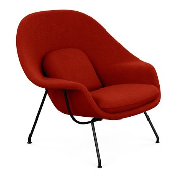 Shown in Classic Boucle: Flax with Polished Chrome base