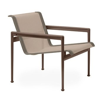 Shown in Bronze Fabric, Chestnut Frame, Sand Trim