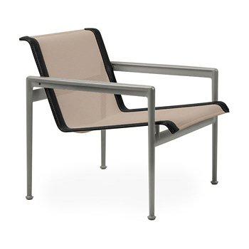 Shown in Bronze Fabric, Weatherable Silver Frame, Onyx Trim