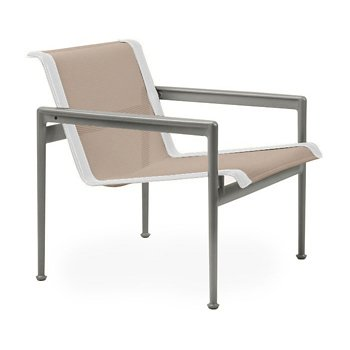 Shown in Bronze Fabric, Weatherable Silver Frame, White Trim