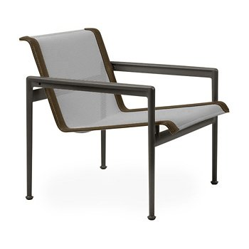 Shown in Aluminum Fabric, Dark Bronze Frame, Bronze Trim