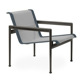 Shown in Aluminum Fabric, Dark Bronze Frame, Grey Trim