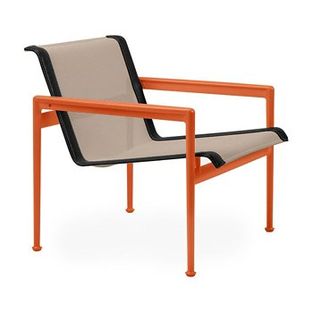 Shown in Bronze Fabric, Orange Frame, Onyx Trim