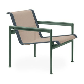 Shown in Bronze Fabric, Green Frame, Grey Trim