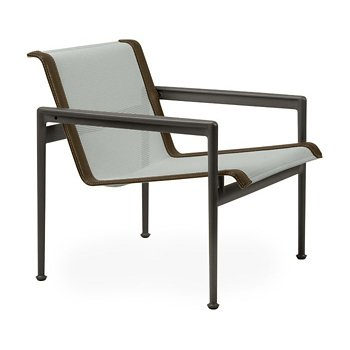 Shown in Grey Tone Fabric, Dark Bronze Frame, Bronze Trim
