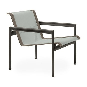 Shown in Grey Tone Fabric, Dark Bronze Frame, Sand Trim