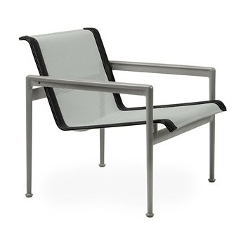 Shown in Grey Tone Fabric, Weatherable Silver Frame, Onyx Trim