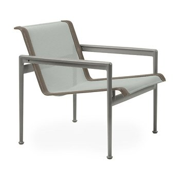 Shown in Grey Tone Fabric, Weatherable Silver Frame, Sand Trim