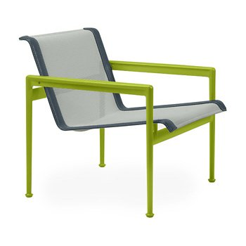 Shown in Grey Tone Fabric, Lime Green Frame, Grey Trim