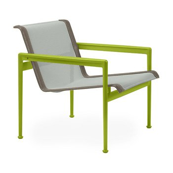 Shown in Grey Tone Fabric, Lime Green Frame, Sand Trim