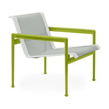 Shown in Grey Tone Fabric, Lime Green Frame, White Trim