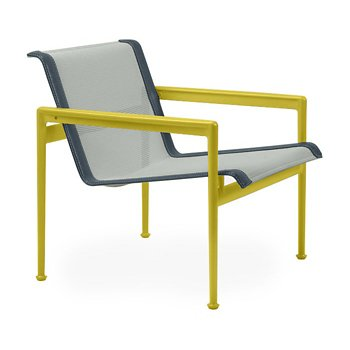 Shown in Grey Tone Fabric, Yellow Frame, Grey Trim