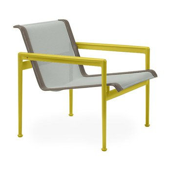 Shown in Grey Tone Fabric, Yellow Frame, Sand Trim