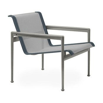 Shown in Aluminum Fabric, Weatherable Silver Frame, Grey Trim