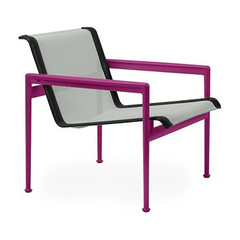 Shown in Grey Tone Fabric, Plum Frame, Onyx Trim