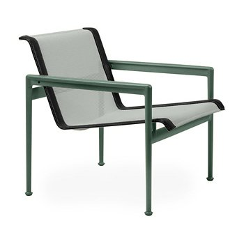 Shown in Grey Tone Fabric, Green Frame, Onyx Trim