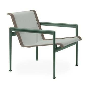 Shown in Grey Tone Fabric, Green Frame, Sand Trim