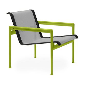 Shown in Aluminum Fabric, Lime Green Frame, Onyx Trim