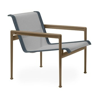 Shown in Aluminum Fabric, Warm Bronze Frame, Grey Trim