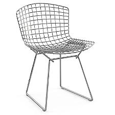 Bertoia Side Chair, Unupholstered  -  Authorized Retailer