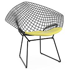 Diamond Lounge Chair with Seat Cushion, Outdoor  -  Authorized Retailer