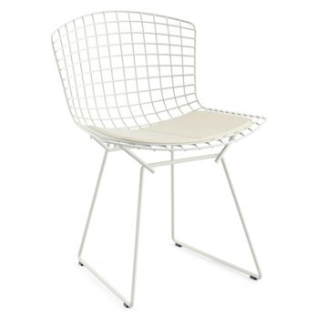 Bertoia Side Chair With Seat Cushionand Outdoor By Knoll At Lumenscom