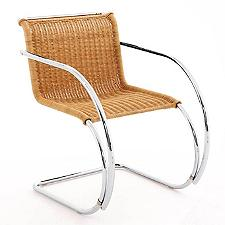 MR Rattan Chair with arms  -  Authorized Retailer
