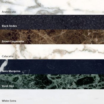 Shown in Marble options